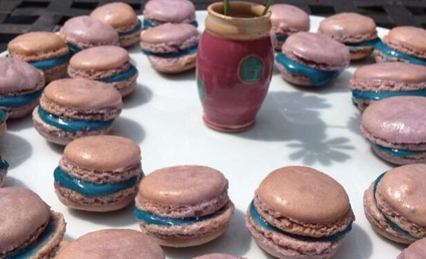 Mädels machten #Macarons. Mmmmh! #WHP🌈