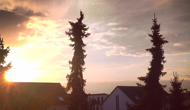 #Wolken über #Itter