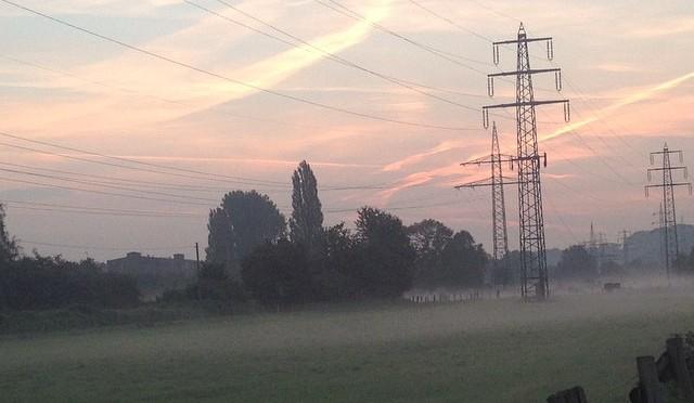 Guten Morgen, #Vennhausen ! #morgennebel #nofilter