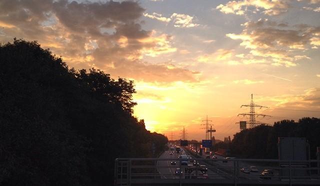 Guten Morgen, #Autobahn #A46 !