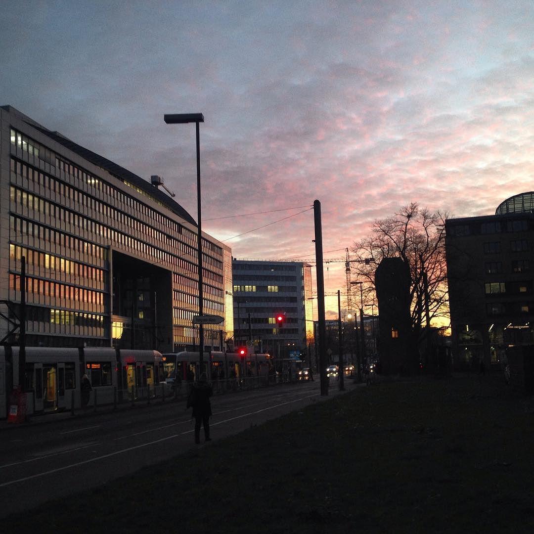 Handys weg! #Himmel gucken!!! #Grafenberger Allee #Düsseldorf